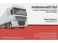 Experienced National/International CPC holder / Transport Manager