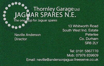 Jaguar Spares Northeast