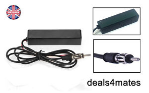 Electronic Auto Car Stereo Antenna AM FM Radio Hidden Amplified Aerial Universal