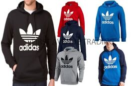 ADIDAS ORIGINALS TREFOIL HOODIES LARGE SELECTION AVAILABLE ALL COLS AND SIZES