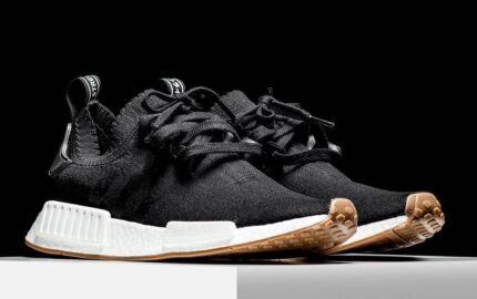 Adidas NMD Gum Black, Brand New! Size 7 UK