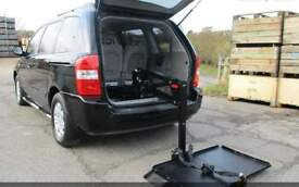 kia sedona automatic wheelchair lift platform disabled