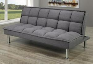 Sofabed with Stainless Steel Legs (TI8)