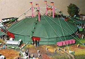 MBT 1001, Spur H0 Circus Set Sarrasani, Bausatz im Originalkarton, NEU    #ab789