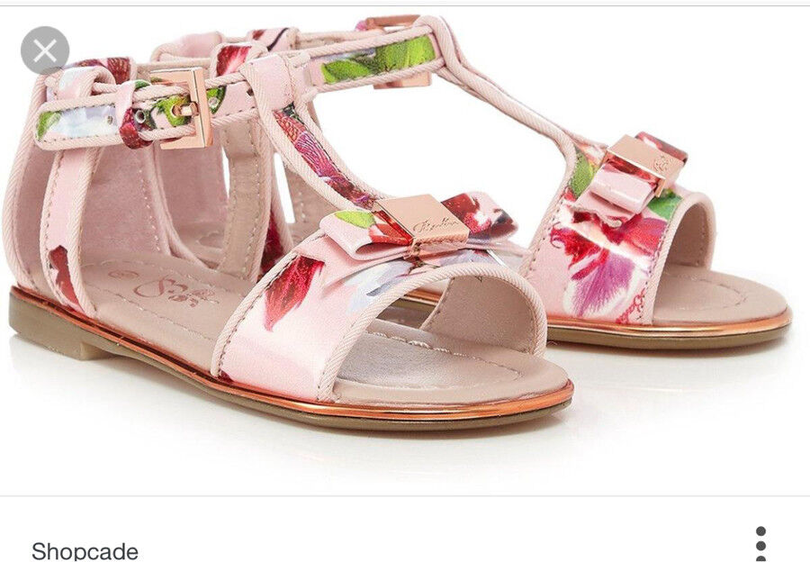 Ted Baker Girls Sandal size 10 New with tag