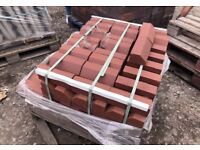 🏅Over-Hanging Red Angle Window Sill Bricks