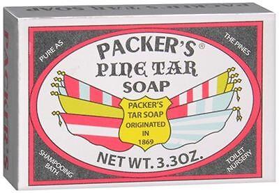 Packers Tar Soap (PACKER'S Pine Tar Soap 3.30)