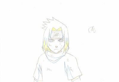 Anime Genga not Cel Naruto #205