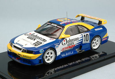 JGTC 1995-43933 Johnson wax 1//43 Ebbro Nissan Skyline R33 #10 142104