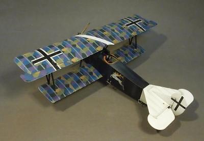 JOHN JENKINS WW1 KNIGHTS OF THE SKY ACE-37 WW1 GERMAN FOKKER D.VII FIGHTER MIB