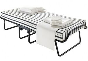 Titus rollaway single bed with stripped matress