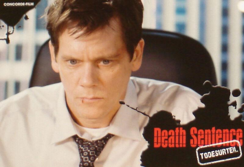 DEATH SENTENCE - Lobby Cards Set - Kevin Bacon, Garrett Hedlund, John Goodman