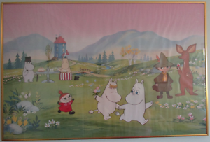 Picture of Moomin in Metal Frame (61.7 x 92.1cm) Barden Ridge Sutherland Area Preview