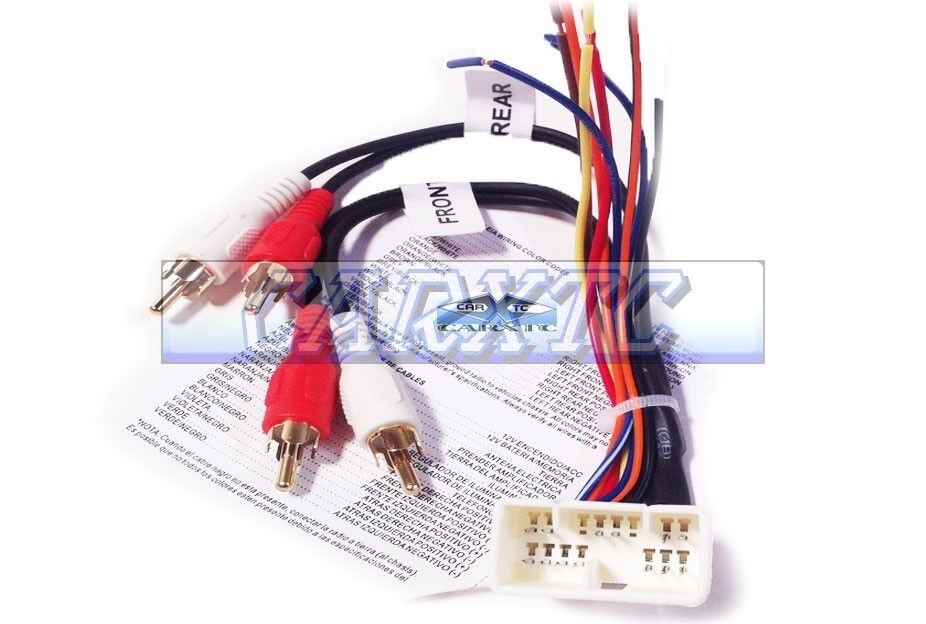 Vehicle Audio & Video Installation Replacement Radio Wiring ... on