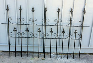 "Victorian Solid Iron Fence avail 64""W x 40 "" Kawartha Lakes Peterborough Area image 2"