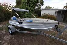 Boat 3.7m Brooker with 1996 15HP Mariner on Polmac trailer Kelmscott Armadale Area Preview