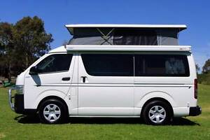 2015 Toyota Frontline Automatic Campervan Turbo Diesel - Low Km Albion Park Rail Shellharbour Area Preview
