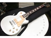 2010 Gibson Les Paul Studio 50s Tribute Limited Edition Satin Worn White Don't Miss Very Rare