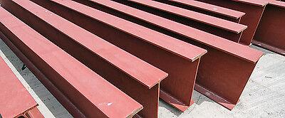 Construction Steel I Beams 12 Inch Web X 6-12 Inch Flange 20 Feet Long