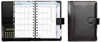 Daily Planner Calendar Organizer Planahead Runner Desk Pocket Binder Calculator