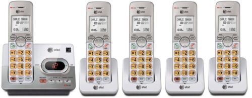 AT&T EL52253 DECT 6.0 5-Handset Cordless Answering System with Caller ID/Call