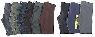 Leggings - NEW Ladies' Matty M Wide Waistband Leggings - Thicker Material - VARIETY