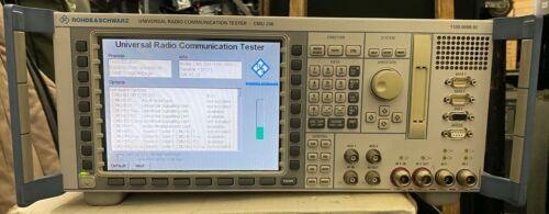 Rohde & Schwarz CMU-200 universal radio comm. tester with signaling option
