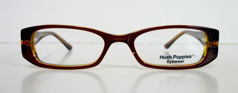 50-17-135 Hush Puppies Plastic 2-Tone/ Women-3 Colors Eye Glasses Frame RTV $185