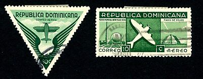 DOMINICAN REPUBLIC 1909-1939 SCOTT C33-C34 J5 J13 O10 O12-O15 RA1-RA4 STAMPS