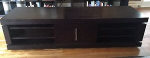 Solid timber TV unit Botany Botany Bay Area Preview