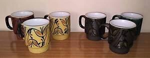 Vintage Retro Stackable Mugs -Japan Golden Grove Tea Tree Gully Area Preview