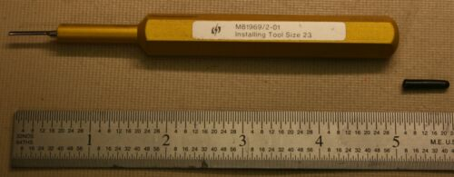M81969/2-01 Contact Insertion Tool Used