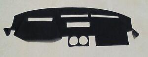 fits 1984-1989 Nissan 300ZX  dash cover dashmat dashboard cover  BLACK