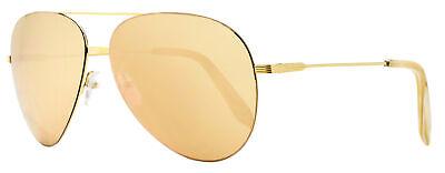 Victoria Beckham Aviator Sunglasses VBS119 C06 18ct Gold 62mm S119