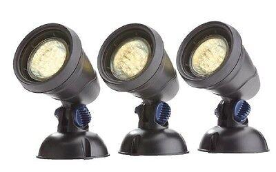 OASE LUNAQUA CLASSIC LED SET 3 BELEUCHTUNG GARTENBELEUCHTUNG LICHT KOI NEU 50530