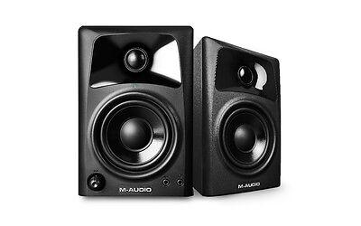 M-Audio AV-42 Active Powered DJ Studio Desktop Reference Monitor Speakers (Pair)