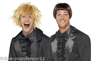 Mens 90's Lloyd Harry Dumb & Dumber Wig Set Fancy Dress Funny Film Crazy Hair