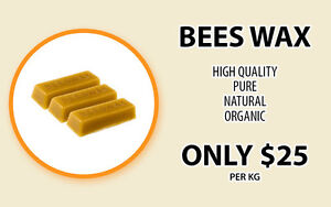 Beeswax for sale , 1kg blocks Blackburn North Whitehorse Area Preview