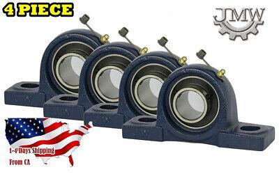 Ucp204-12 Pillow Block Bearing 34 Bore 2 Bolt Solid Base 4pcs