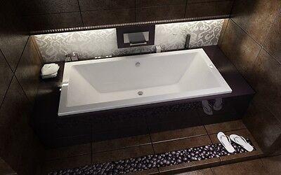 Rechteckbadewanne Rechteckwanne Rechteck Badewanne Besco Quadro 175 x 80 Füße