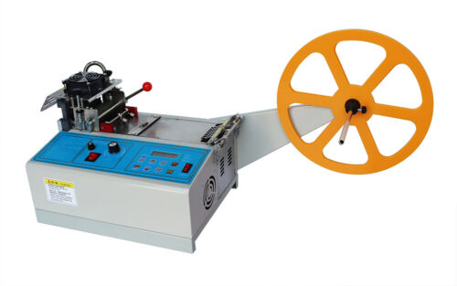 TECHTONGDA  220V Hot and Cold Automatic Tape Cutting Machine Belt Cutter