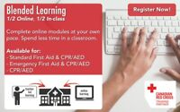 BLENDED LEARNING FIRST AID, CPR & AED
