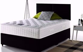 ''Cheapest Offer'' -- Double Divan Bed --Orthopaedic/Memory Foam Mattress --Same Day Delivery