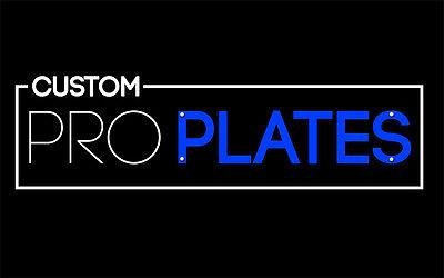 Custom Pro Plates