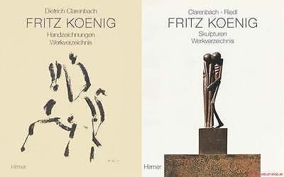 Fachbuch Fritz Koenig, WERKVERZEICHNIS, Handzeichnungen und Skulpturen, BILLIGER