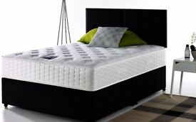 🚚🚛POCKET SPRUNG SET🚚🚛Brand New Double Or King Divan Bed with 1000 OR 2000 POCKET SPRUNG Mattress