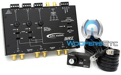 Arc Audio Sri 6 Channel Signal Summing Module Advanced High Balanced Inputs New
