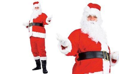 Costume di babbo Natale lusso taglia unica XXL