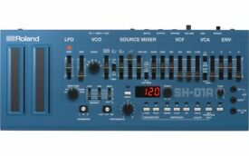 Roland boutique SH-01a blue - essentially brand new, perfect condition