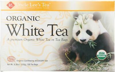 Legends Of China Organic White Tea (1 - 100 BAG) (100% Organic White Tea)